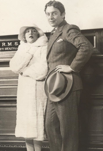 Mae and her prince, David Mdivani.