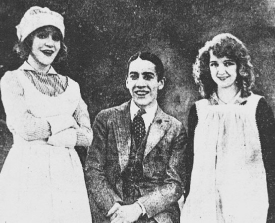 Mae Murray, Jack Pickford, and Vivian Martin