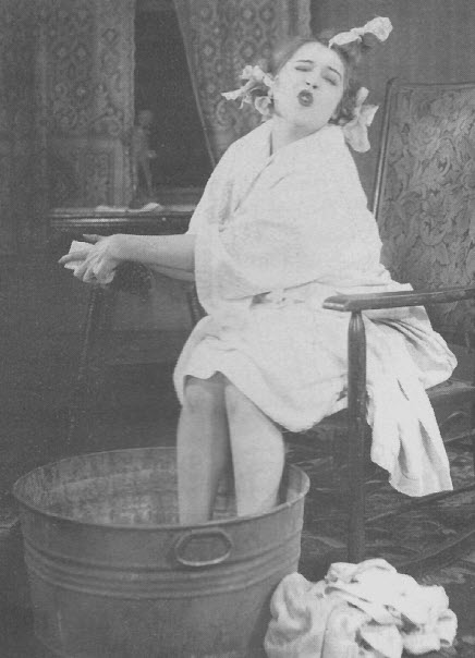 Mae Murray in one of her best roles: Mary McGuire in The Delicious Little Devil.