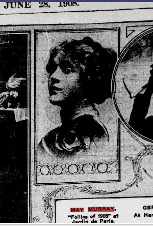 May Murray 1908