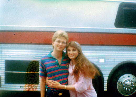 Sylvia and Michael, 1983