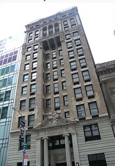 The Royalton Hotel on 44th Street.
