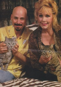 Stella and companion Bob Kulick