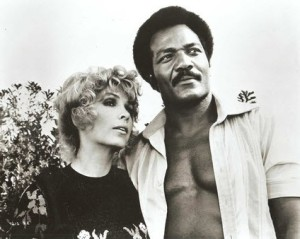 Stella and Jim Brown in Slaughter.