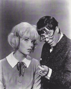 Stella and Jerry Lewis in The Nutty Professor.