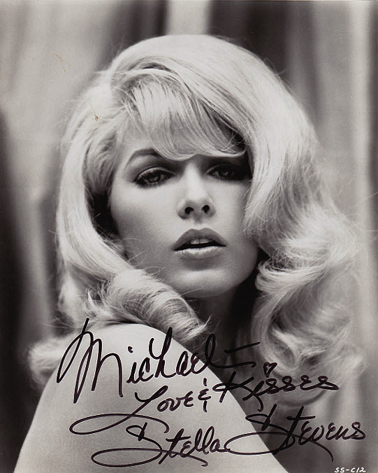 Stella Stevens: My vision of the ideal 1960s movie star.