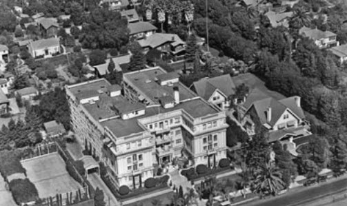 Garden Court Apartments, Mae's home in 1964.