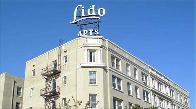 Lido Apartments in Hollywood.
