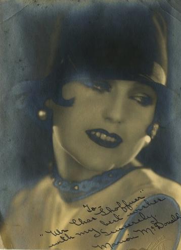 A glamorous Marion McDonald