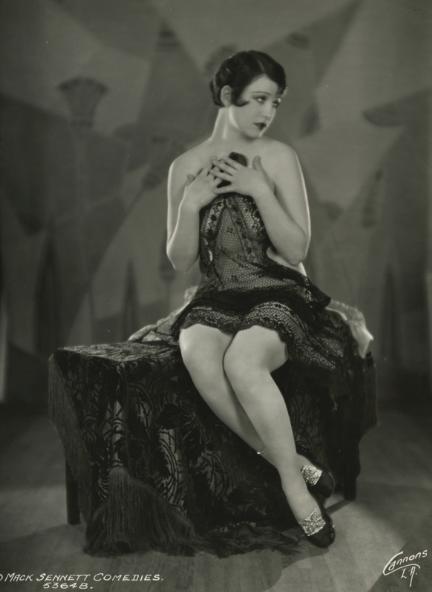 A seductive Marion McDonald