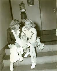 Peggy McDonald, Marion's sister, and Jean Harlow.