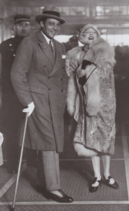 Rudolph Valentino and Mae Murray, fall of 1925.