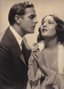Lupita with Antonio Moreno in the Spanish-language version of The Cat Creeps