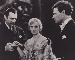 Madge with Bela Lugosi and Robert Frazer in White Zombie