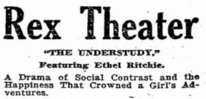 Ethel was featured in The Understudy