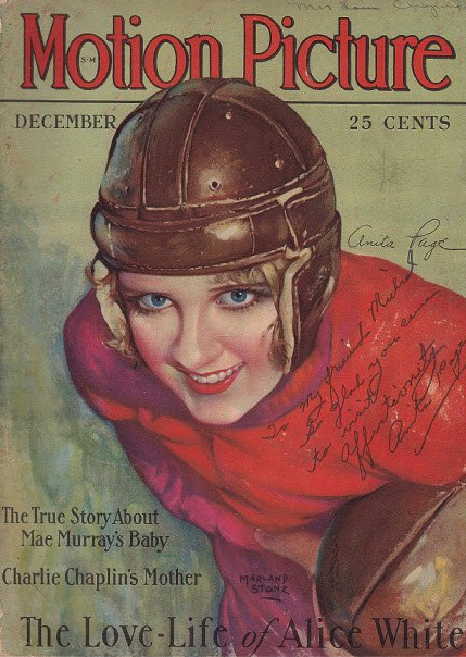 "When Anita was autographing this magazine cover for me, Randy asked her to sign it, ""Affectionally.""  ""Oh, I couldn't do that! Randy reminded her that I had flown all the way across the country to see her.  ""Well, okay,"" she said."