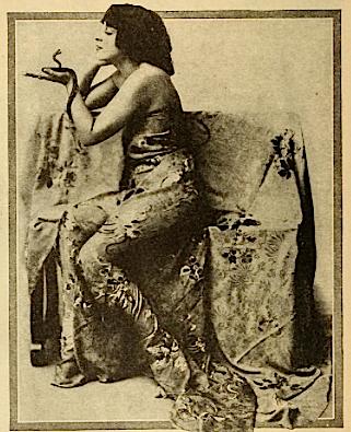 Corenne Grant, Egyptian priestess?