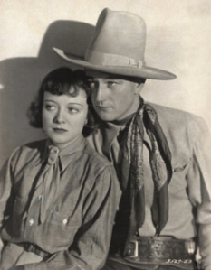 Sheila and Duke Wayne