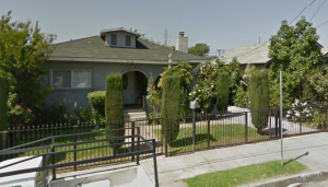 Corenne lived in this house  with her husband and two children in 1908: 1689 W. 20th Street, Los Angeles