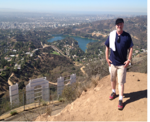 Michael over Hollywood