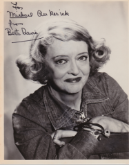 One of my own Bette Davis treasures.