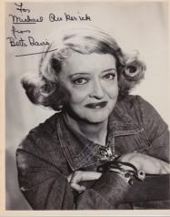 One of my own Bette Davis treasures.