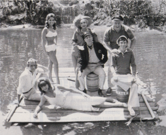 The cast of Gilligan's Island