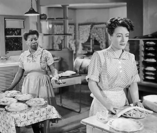 Butterfly with Joan Crawford in Mildred Pierce