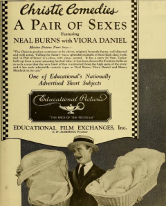 An ad for A Pair of Sexes