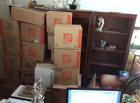 Thirty boxes of biographies