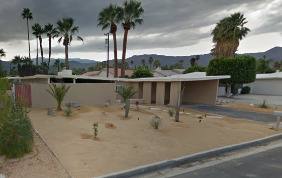 Maurine's Palm Desert home
