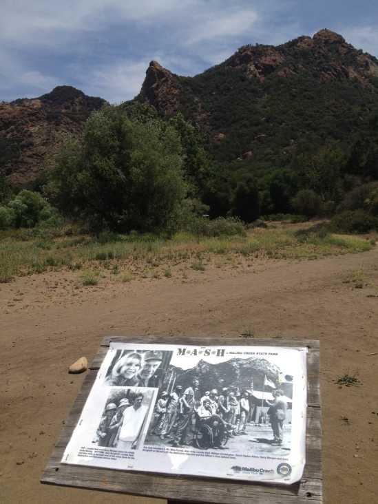Visited the site in Malibu Canyon where M*A*S*H was filmed.