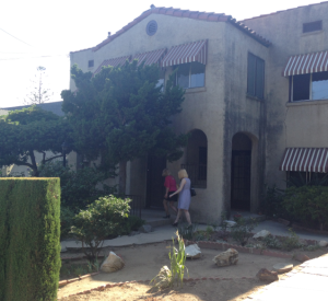 Amy and Theresa get a closer look at the house where Lucille died