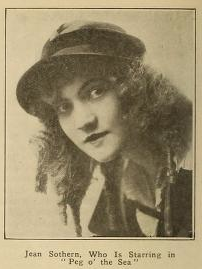 Jean as she appeared in Peg 'o the Sea