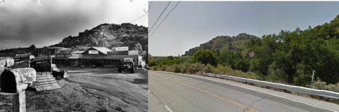 Spahn Ranch, then and now