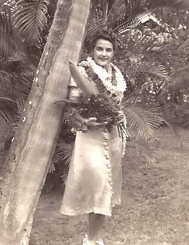 Sally in Hawaii, 1941