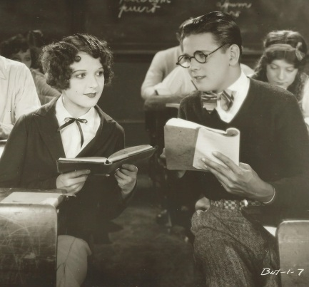Sally with David Rollins in High School Hero (1928)